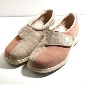 Hotter | Two Tone Suede Loafer Size 9